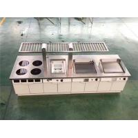 Buy cheap Restaurant Hotel Kitchen Equipment Project List Depth 900Mm induction Modular Cooking Line from wholesalers