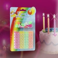 Buy cheap Birthday Candle with flower holder product