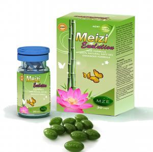Buy cheap OEM Botanical Slimming Capsules Women Slim Fast Diet Pills Meizi Evolution Botanical Slimming Soft Gel Capsules product
