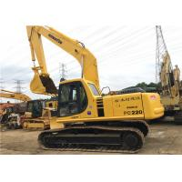 Buy cheap Used Komatsu Crawler Hydraulic ExcavatorPC220 22180kg Operate Weight With 1m3 bucket from wholesalers