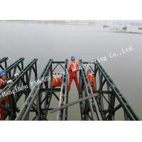China Customized Design Prefabricated Steel Structure Bailey Bailey Long Span Construction on sale