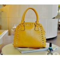 China 2012 latest lady PU fashion handbags with rivet GED00023 on sale