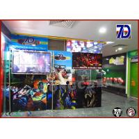 China Flexible 7D Mobile Cinema Mobile Movie Theater Interactive Arcade Game on sale