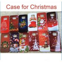 China Christmas PC hard back Case Cover Santa Claus Cases For iphone 6 plus 5S 4S Samsung Galaxy S5 S6 S7 Note 4 7 Christmas wholesale