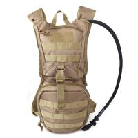 China Tactical Hydration Pack Backpacklightweigh With 2.5L Bladder , Multifunctional water bag wholesale