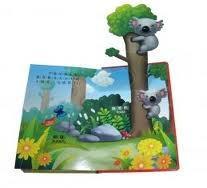 Buy cheap A impressão do livro de crianças personalizadas com estala para fora o caráter 3D com do papel matte product