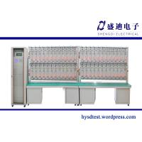 Buy cheap 48 Seats Single Phase Electronic Energy Meter Test Bench from wholesalers