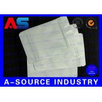 Buy cheap 7 * 10 Cm White Plastic Sleeves Aluminum Foil Bags Zip Lock Pounch For Capsules product