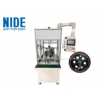Buy cheap Automatic wheel hub motor stator winding machine , electric scooter flyer coil winder product