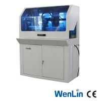Buy cheap A4 Plastic Card Die Cutter 3000 cards per hour , PVC Sheet Overlay Making Machine product