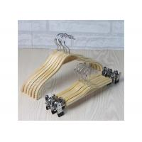 Buy cheap Wooden Laundry Padded Retail Store Hangers , Plywood Material Bulk Coat Hangers product