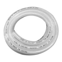 Buy cheap White Color Food Grade PVC Braided Hose With Tensile Polyester Fiber Reinforcement product