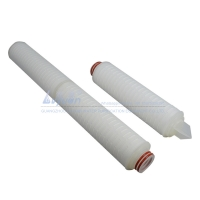 Buy cheap OD 70mm DOE Thread 0.2 Micron Pleated PP Filter Element product