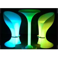 Buy cheap Garden RGB Led Coffee Table / Lighted Cocktail Tables IP68 PE Material from wholesalers