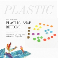 Buy cheap Disposable Gowns 4 Parts 10MM Plastic Snap Button product