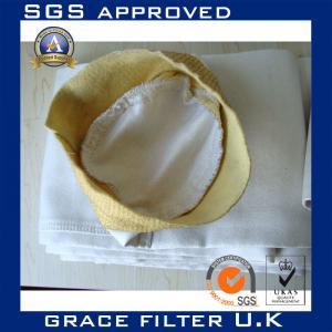 China Anti-Static Woven Fiberglass Filter Bags For Filter Housing / Asphalt Plant on sale