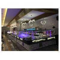 Buy cheap L Shape Commercial Buffet Equipment Aluminum Composite Panel Cabinet Material product