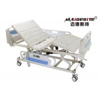 Buy cheap ABS Side Rail Hospital Electric Bed , Adjustable Medical Beds OEM Available product