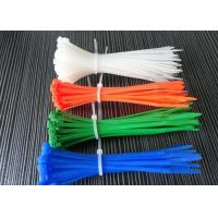 Buy cheap Colorful Nylon Tie Wraps Operating Temperature -35 To 85℃ For Various Applications product