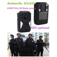 Buy cheap OEM 1296P HD IR Night Vision Wearable Video Camera , 8 Hours Recording product