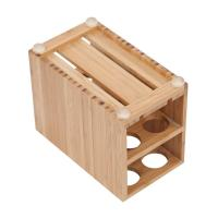 Buy cheap high quality bamboo toothbrush holder using for bathroom with cheap price product