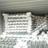 Buy cheap 50mm Hot Dipped Galvanized Chain Link Fence for Europe Market from wholesalers