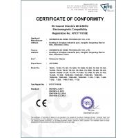 AG SONIC TECHNOLOGY LIMITED Certifications