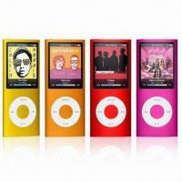 China MP4 Player/MP3 Player with 1.8-inch Multicolor Display, Supports 16GB Memory on sale
