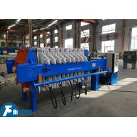 Buy cheap 1.2Mpa Pressure Automatic Membrane Filter Press 4.0kw Customized Voltage product