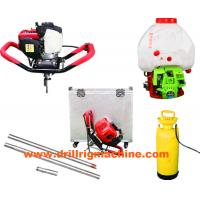 Backpack Core Drill , Environmental Geotechnical Backpack Concrete Vibrators