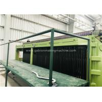 Buy cheap Zinc / PVC Wire Coating Machine , Wire Mesh Fence Machine With Automatic Oil System product