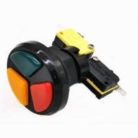Buy cheap Multicade 3 in 1 triple Round push button microswitch from wholesalers