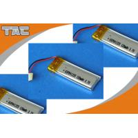 China GSP041235 3.7V 120mAh Polymer Lithium Ion Battery for PDA, MP3, MP4, smart card on sale