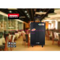 10 Inch Hi Fi Active Portable Trolley Speakers With Bluetooth / Amplifier