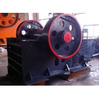 Buy cheap Automatic Discharging Dolomite Flint Jaw Crusher Machine With Impact Protection product
