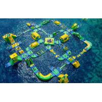 Buy cheap Giant Size Summer Popular Inflatable Floating Water Park Games For Adults from wholesalers