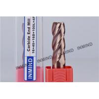 Buy cheap Long 4 Flute Carbide Square End Mill CNC Machine Cutting Tool product