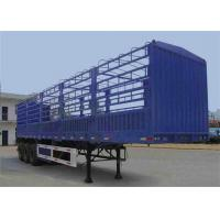 Buy cheap 2 or 3 axle transport fence  cargo semi trailer 13000*2500*3600 product