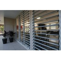 Hurricane Proof Aluminum Glass Louvered Windows With