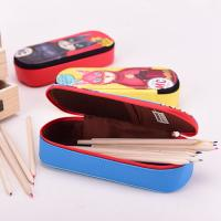 Buy cheap Lining 210 D Student Pencil Pouches Kids , Double Sided Pencil Case / Pencil Box product