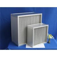 Buy cheap 400 degree ceramic glue air filters H14 from wholesalers