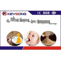 Buy cheap Nutritional Powder Food Extruder Machine Stainless Steel 304 Baby Food Production Line product