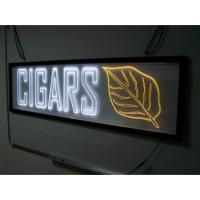 Buy cheap acrylic material logo sign light box sign board product