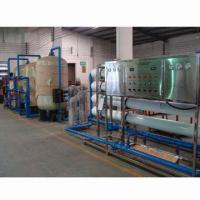 Buy cheap 8,000L/hr UF Mineral Water Machine with Hollow Fiber Membrane and Booster Pump product