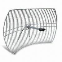 Buy cheap Grid Type WLAN Antenna with 2.4GHz Frequency, N Jack Connector, and 24dBi Gain product