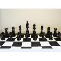Buy cheap Large Size Window Display Decorations Decorative Fiberglass Chess Pieces product