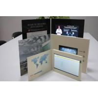 Buy cheap HD USB Lcd Video Greeting Card , Wifi Sensor Switch Promotional Video Brochure product
