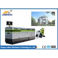 China White Color Light Gauge Steel Framing Machines , Prefabricated House Metal Framing Machine on sale