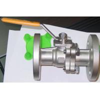 Buy cheap Reliable Sealing Floating Ball Valve 1/2 - 12 Nominal Diameter ISO17292 product