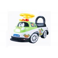 Buy cheap Kids Toddler Plastic Ride On Car Push Baby Walker With Backrest Non - Toxic product